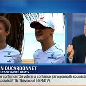 BFM Story: Michael Schumacher a quitté l'hôpital et sera pris en charge à son domicile
