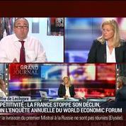 Emmanuel Lechypre : Compétitivité: la France reste à la 23ème place dans le classement du World Economic Forum