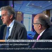 Les pilotes d'Air France veulent-ils le crash de la compagnie ?, dans Les Décodeurs de l'éco 3/4
