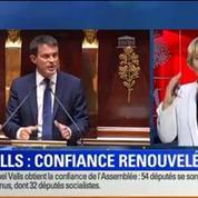 20H Politique: Vote de confiance: Manuel Valls n'a pas obtenu la majorité absolue 1/2