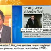 Les SMS de Chatel et Gattaz sur le «père Noël» Valls
