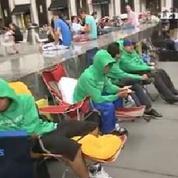 Iphone 6 : à New-York, les fans attendent déjà