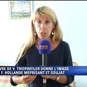 Livre de Trierweiler: Dessus, choquée, ne croit pas aux attaques