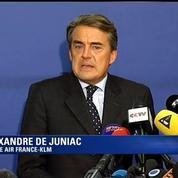 Juniac, PDG d'Air France KLM: la grève me paraît sans motif