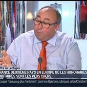 Emmanuel Lechypre: La France est le 2ème pays en Europe où les honoraires des notaires sont les plus chers
