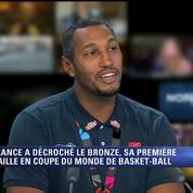 Basket / Les médaillés de bronze français sur BFM TV