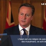 Cameron sur l'Etat islamique : «Ce ne sont pas des musulmans, ce sont des monstres »