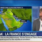 BFM Story: Quelle est la stratégie de la France pour lutter contre l'État islamique ?