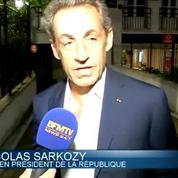 Nicolas Sarkozy s'offre une virée au théâtre pour voir la pièce de BHL