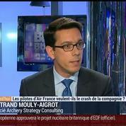 Les pilotes d'Air France veulent-ils le crash de la compagnie ?, dans Les Décodeurs de l'éco 2/4