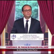 Popularité : «Ce qui fait ma légitimité, c'est le mandat du peuple» (Hollande)