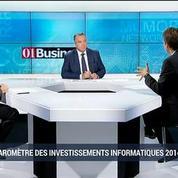 Les entreprises relancent-elles leurs investissements en informatique ?: Yves Bernaert et Matthieu Camus, dans 01Business – 1/4