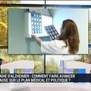 Maladie d'Alzheimer: comment faire avancer la cause sur le plan médical et politique?, dans Votre santé m'intéresse