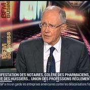 Jean Tarrade, président du Conseil supérieur du notariat, dans Le Grand Journal 2/3