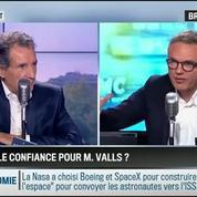 RMC Politique : Manuel Valls a-t-il vraiment obtenu la confiance ? –