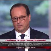 Montée du FN : «Nous avons une responsabilité» dit Hollande