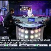 Olivier Delamarche VS Pierre Sabatier: Fluctuations de la parité euro/dollar: quel impact sur l'économie de la zone euro?, dans Intégrale Placements – 1/2