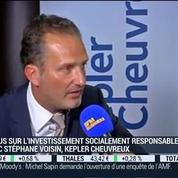 Focus sur l'investissement socialement responsable: Stéphane Voisin, dans Intégrale Bourse –