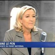 Marine Le Pen : «Sarkozy n'a pas changé, et tant mieux»