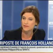 BFM Story: Semaine noire de François Hollande: le chef de l'État a-t-il apporté la bonne réponse ?
