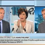 David Revault d'Allonnes et Guillaume Roquette: Le face à face de Ruth Elkrief –
