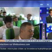 Les pilotes d'Air France veulent-ils le crash de la compagnie ?, dans Les Décodeurs de l'éco 4/4