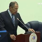 Ukraine : Lavrov appelle à discuter un cessez-le-feu «immédiat et sans conditions»