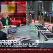 Emmanuel Lechypre : La baisse de l'euro favorise-t-elle la croissance ?