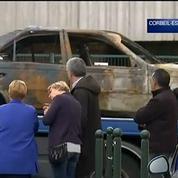 Une école incendiée à la voiture bélier à Corbeil-Essonnes