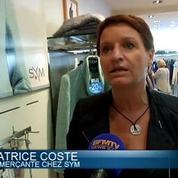Sale temps pour les vendeurs de vêtements d'hiver