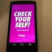 Avec Check Yourself, apprenez à détecter un éventuel cancer du sein (test appli smartphone)