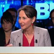 BFM Politique: L'interview BFM Business de Ségolène Royal par Hedwige Chevrillon (2/6)