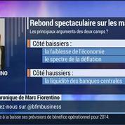 Marc Fiorentino: Les marchés boursiers rebondissent –