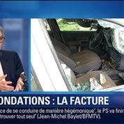 BFM Story: Intempéries: après les innondations, l'heure est au bilan