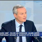 Bruno Le Maire : «Alain Juppé a une dimension d'homme d'Etat»