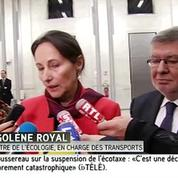 Royal annonce la suspension