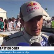 WRC : Ogier champion du monde
