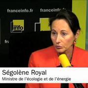 Ségolène Royal demande aux routiers de se calmer
