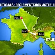 Macron veut faciliter le transport en autocar