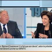 Gérard Larcher: L'invité de Ruth Elkrief