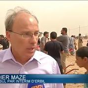 REPORTAGE- Irak: de l'aide humanitaire française acheminée