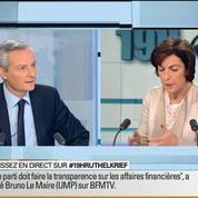 Bruno Le Maire: L'invité de Ruth Elkrief