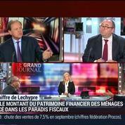 Emmanuel Lechypre : Le montant du patrimoine financier des ménages placé dans les paradis fiscaux est de 8% –