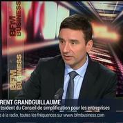 Laurent Grandguillaume, co-président du Conseil de la simplification pour les entreprises (1/3) –