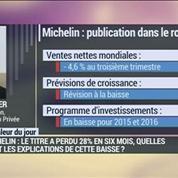 Michelin : nouvel abaissement des prévisions, une baisse de 28% en six mois