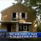 Un Américain échange sa maison...contre un iPhone 6