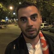 Football / Les supporters parisiens heureux de la victoire face au FC Barcelone