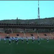 Football / L'Équipe de France affronte une équipe inconnue -