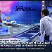 3 minutes pour convaincre 2014: Big Bag 'N Go, une solution d'évacuation pour les déchets, Arnaud Rongier –