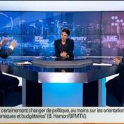 BFM Politique: L'interview BFM Business de Benoît Hamon par Hedwige Chevrillon (2/6)
